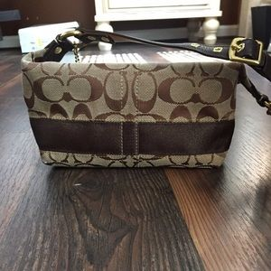 Coach Purse Mini Hobo club party cocktail handbag